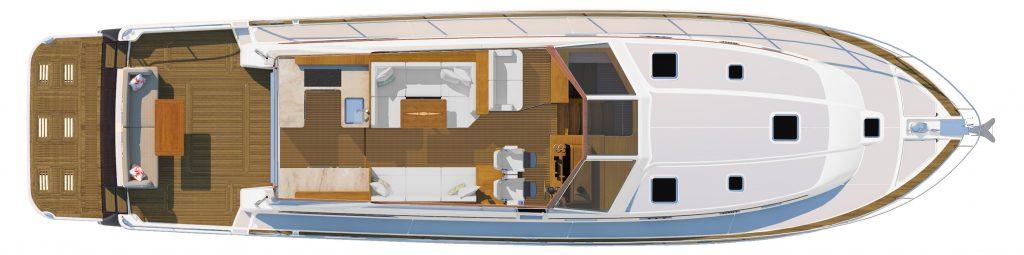 Sabre 58 Galley Design